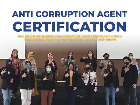 Anti Corruption Agent Certification
