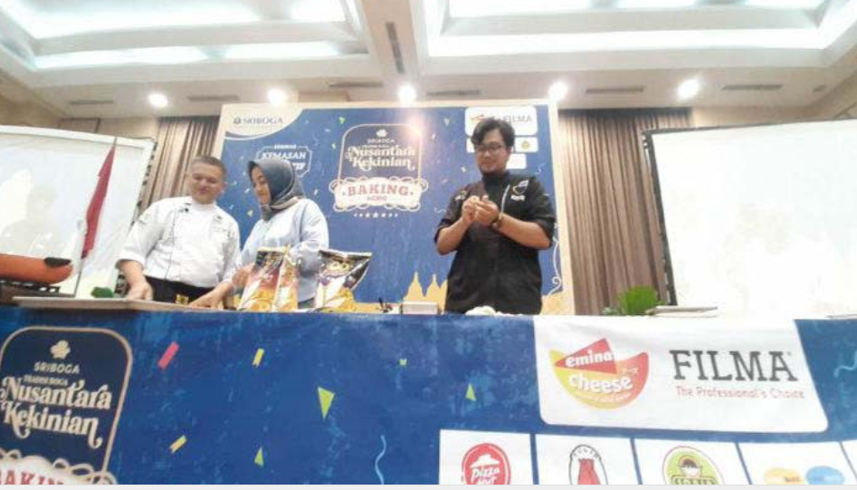 Sriboga Flour Mill Gelar Grand Baking Demo dan Seminar Kemasan Inovatif