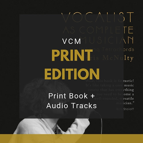 VCM | Print Book + Audio