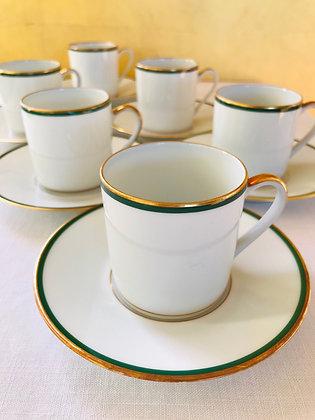 BERNARDAUD - PÉROUSE - Service à café