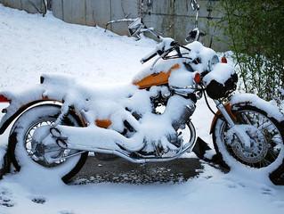 Winterlager für Motorräder