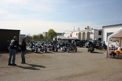 Motorradsegnung