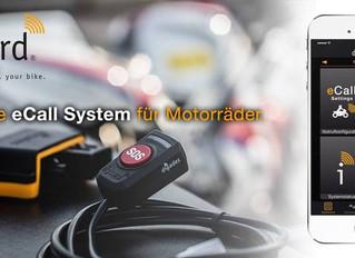 Intelligentes Notrufsystem mit Diebstahlwarnung für Motorradfahrer