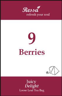 9 Berries . Tea Bag