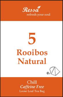 5 Rooibos Natural . Tea Bag