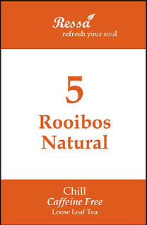5 Rooibos Natural . Loose Tea