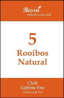 5 Rooibos Natural . Loose Tea