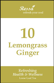 10 Lemongrass Ginger . Loose Tea