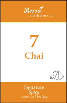 7 Chai . Tea Bag