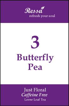 3 Butterfly Pea . Loose Tea