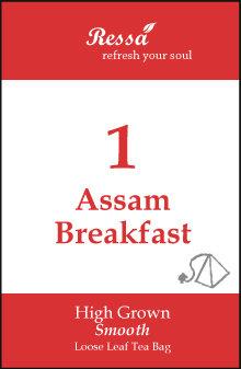 1 Assam Breakfast . Tea Bag