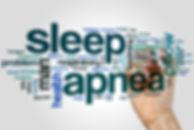 Sleep apnea word cloud concept with inso