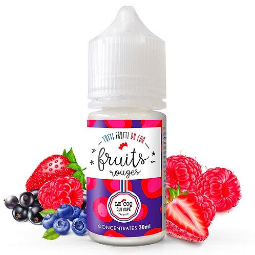 Le Coq Qui Vape - Concentré - Fruits Rouges - 30ml