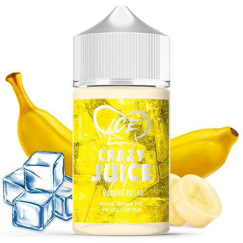 MUKK MUKK - Banane retro Ice - 50ml