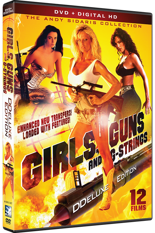 Girls, Guns & G-Strings Deluxe Edition! 12 DVD HD Box Set