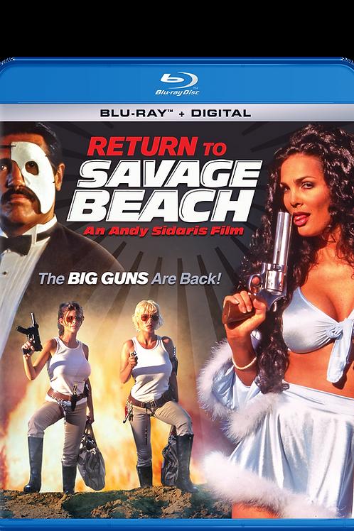 Return to Savage Beach on Blu-Ray