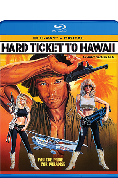 Hard Ticket to Hawaii on Blu-Ray