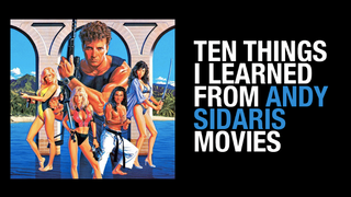 Ten Things I Learned from Andy Sidaris Movies