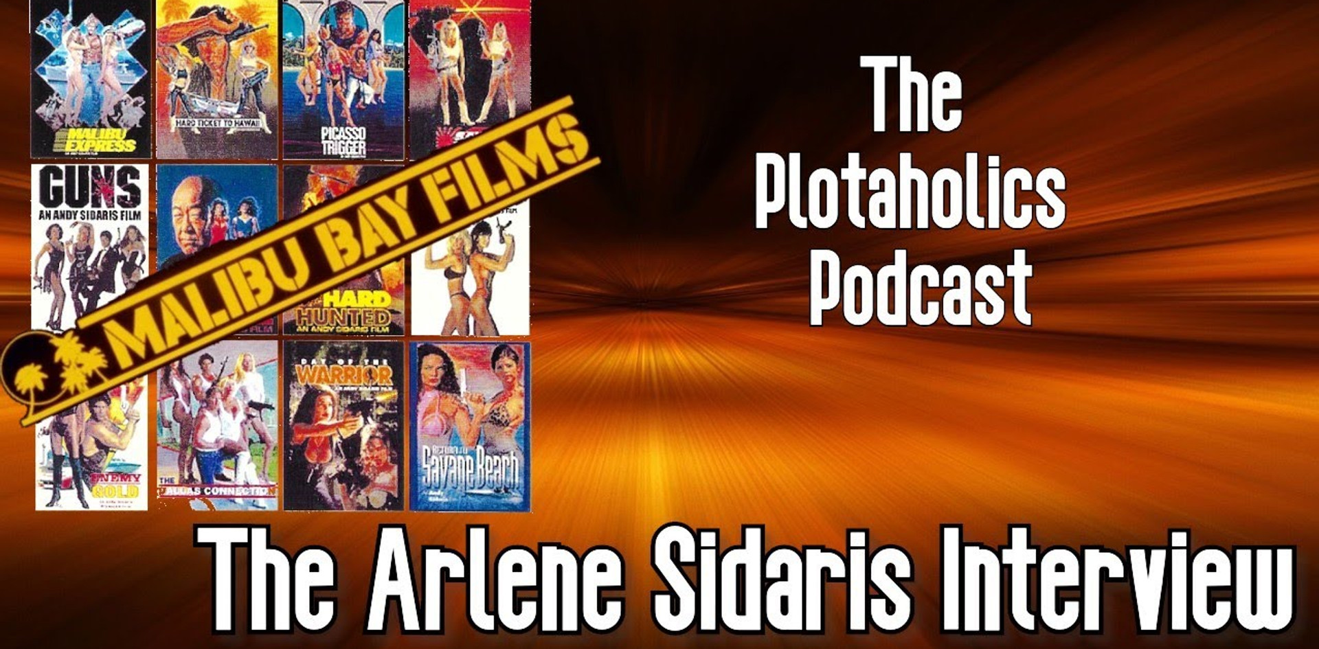 The Plotaholics Podcast Interview with Arlene Sidaris