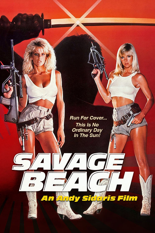 Savage Beach Movie Poster