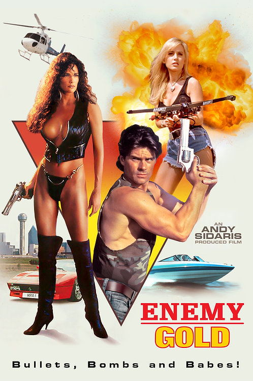 Enemy Gold on Blu-Ray