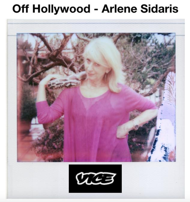 VICE Interviews Arlene Sidaris