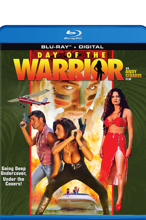 Day of the Warrior on Blu-Ray