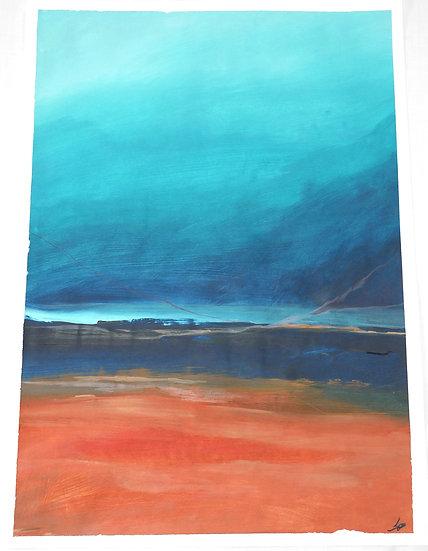 Summer Sands, 42 X 29.7cm