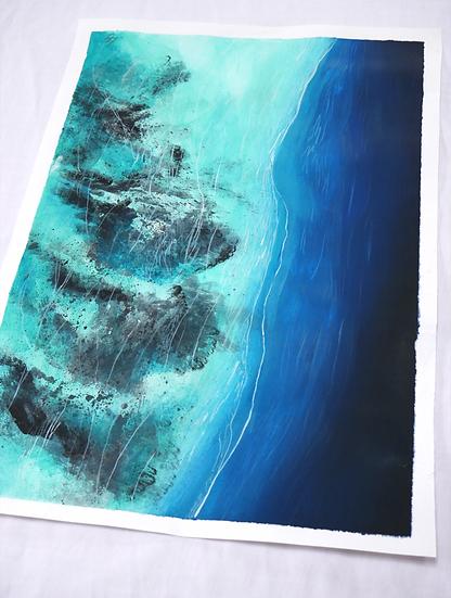 The Reef, 29.7 x 21cm