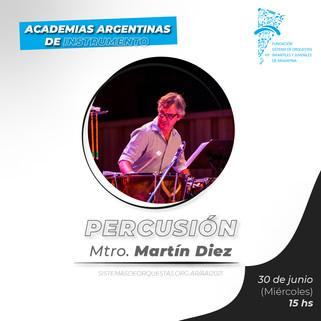 CV Mtro. Martín Diez