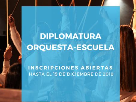 DIPLOMATURA EN ORQUESTA-ESCUELA