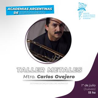 CV Mtro. Carlos Ovejero