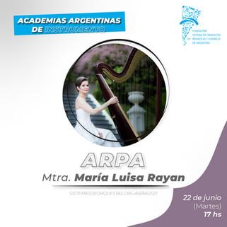 MARÍA LUISA RAYAN - ARPA