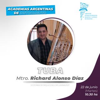 CV Mtro. Richard Alonso Díaz