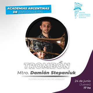 CV Mtro. Damián Stepaniuk