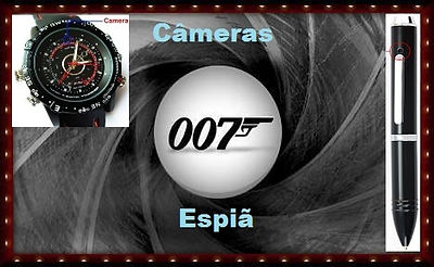 câmeras espiã