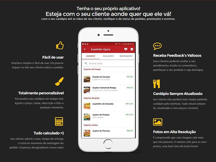 app de entrega
