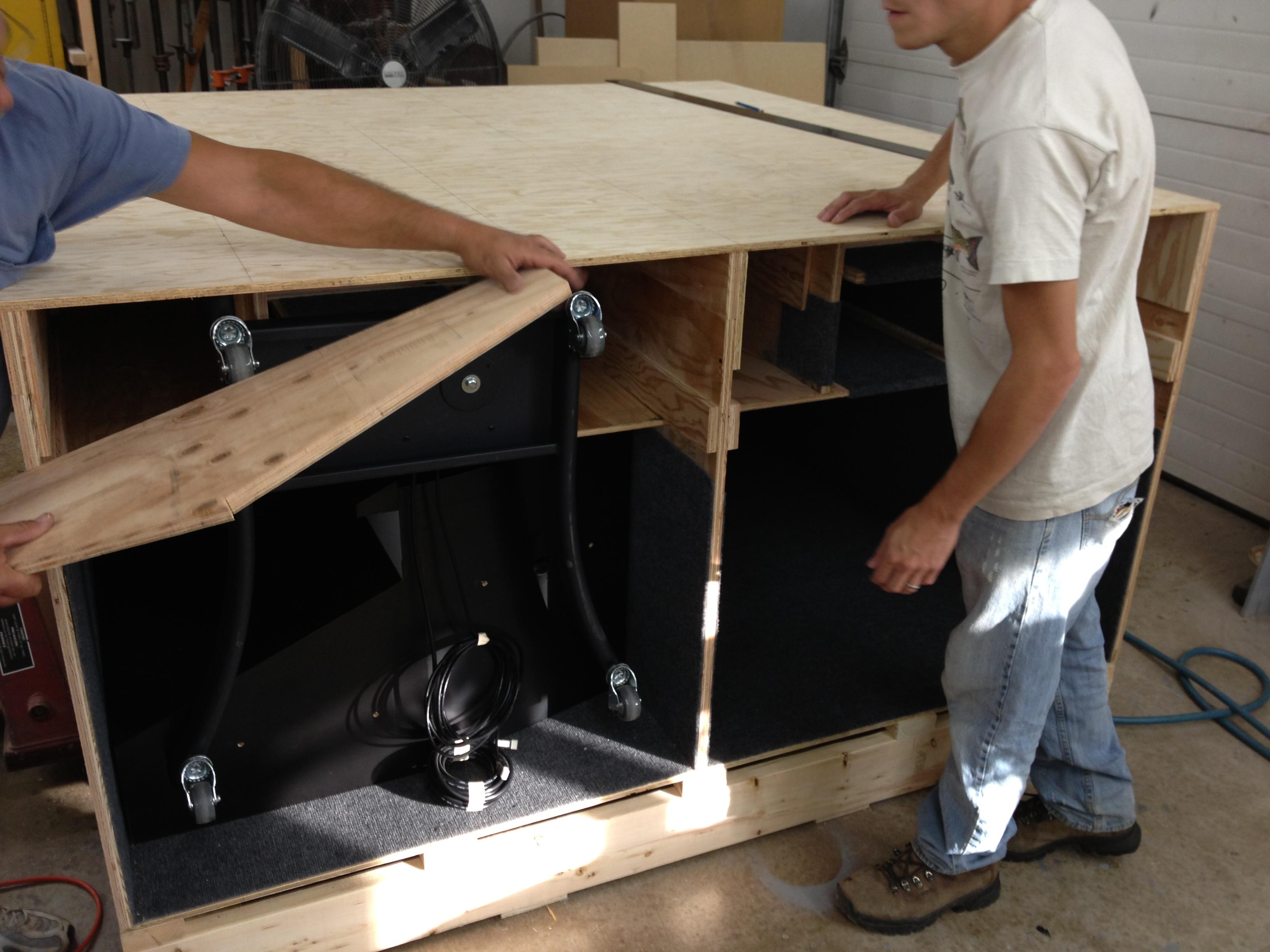 Tradeshow Display Shipping Box
