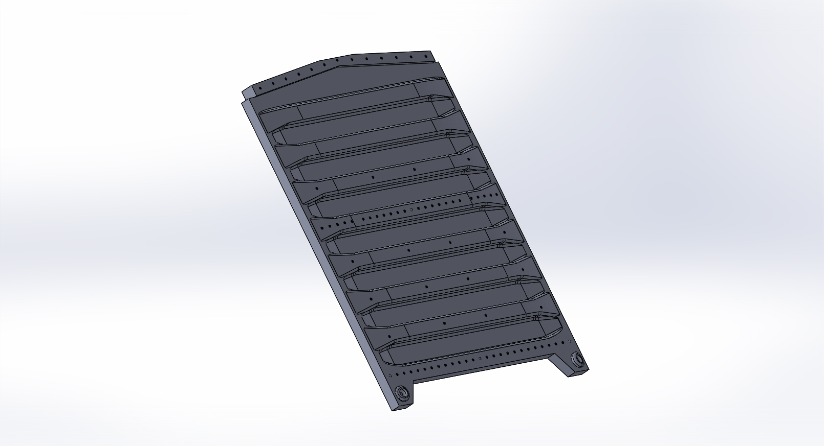 Solidworks model of train piece 2