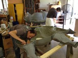 Sculpt Large Bison 39