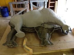 Sculpt Large Bison 38