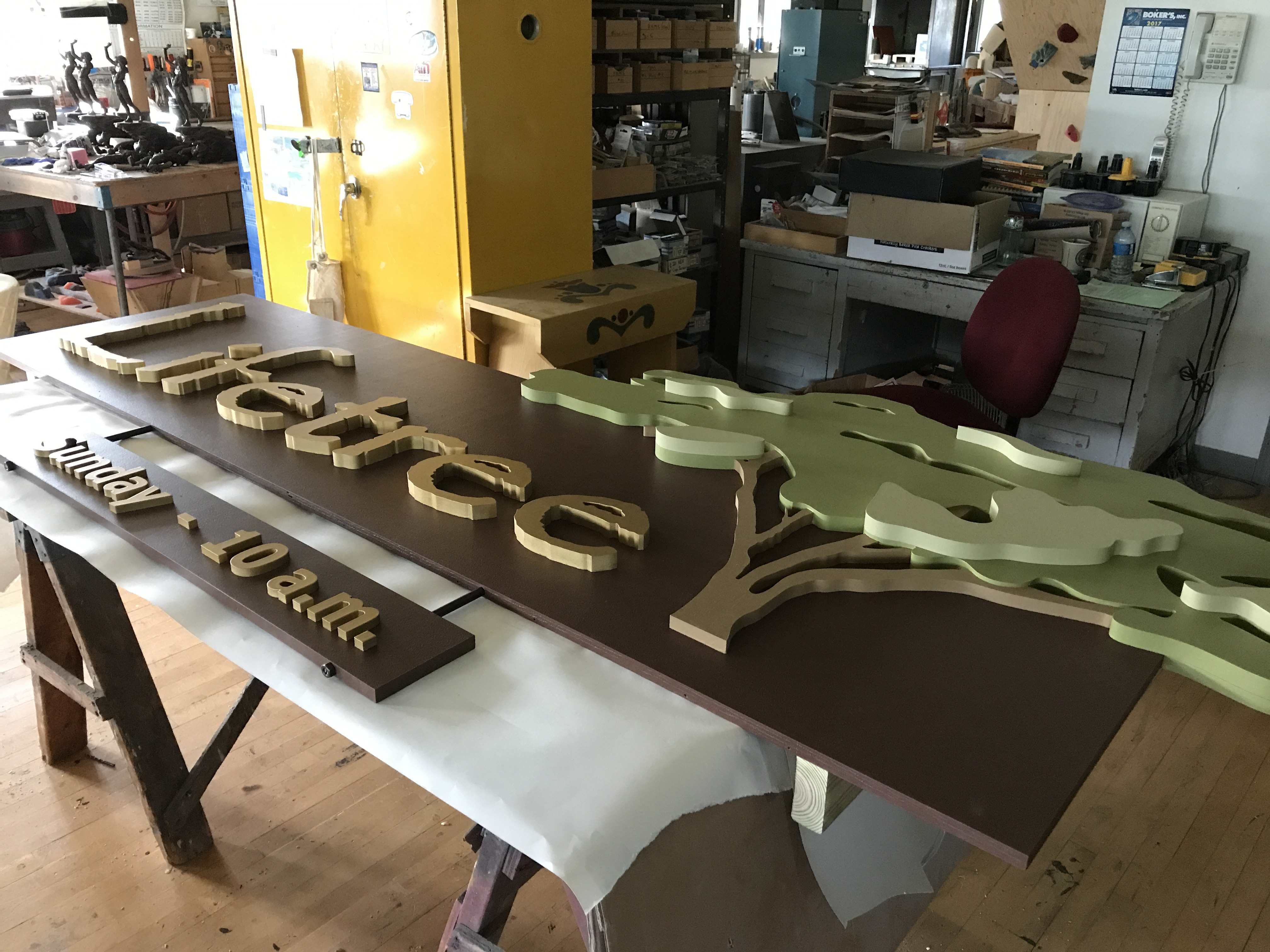 CNC Routed and Handmade Sign 6