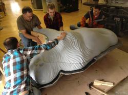 Sculpt Large Bison 27