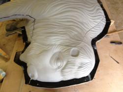 Sculpt Large Bison 22