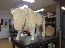 Sculpt Large Bison 16