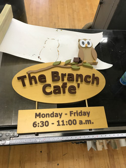 CNC Routed and Handmade Sign 5