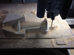 CNC Routing of Pattern for PreCast Concrete