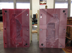 CNC routed Blow Mold 36