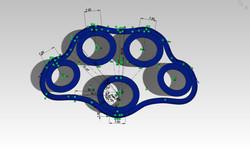 Solidworks prototype model Xband_ver8.4sketch