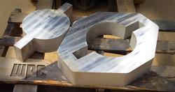 Waterjet Cut Stainless Steel